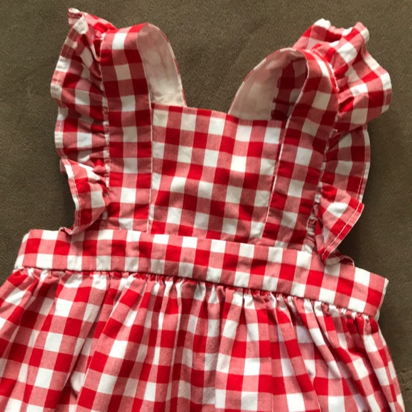 4f0665deda2 GAP Other - 🇺🇸red gingham Gap 3-6m baby girl romper